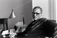 Arthur Miller, Photo by Henri Cartier-Bresson