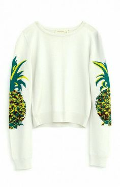 Shop Beyoncé's Tropical Summer Wardrobe via Nicole Miller, Sweater Weather, Pineapple Clothes, Pineapple Outfit, Pineapple Necklace, Cute Pineapple, Pineapple Girl, Summer Outfits, Cute Outfits
