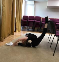 Have A competition Coming Up On Floor. stretching will always help you to have that strength . This is a pic of me going past my limits on my bad leg splits