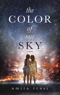 The Color of our Sky designed by Damonza.com   JF: An absolutely gorgeous and iconic look for this novel set in India. The two girls confronting an unnamed but chaotic landscape couldn't be better represented. Don't you want to read it? ★