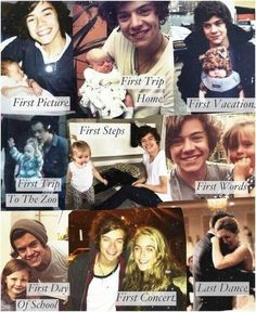 this is an imagine of your kid with harry enjoy « Lux is luck to have Harry as a godfather :) I wish he was mine
