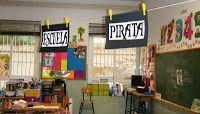 "Dulce Infantil: PROYECTO: ""Bienvenidos a bordo, PIRATAS!"" Flat Screen, Basketball Court, Ideas, Pirate Theme, Pirates, Sweet, Second Grade, Blue Prints, Summer Time"