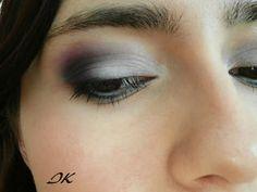 dark blue pink eye makeup