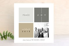 Building Blocks Business Holiday Cards - by fatfatin at Minted.com | Corporate Holiday Photo Greetings
