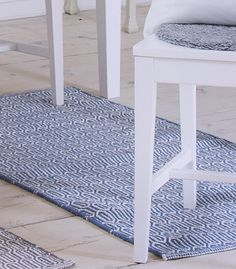 Scandinavian patterned blue floor runner & rug by Skandihome on Etsy https://www.etsy.com/listing/219406116/scandinavian-patterned-blue-floor-runner