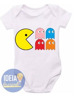 Body infantil - Pac Man