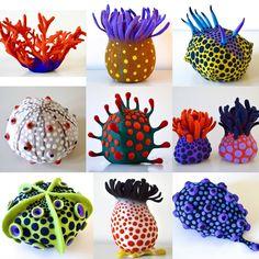 Amazing Felt Creations by Atsuko Sasaki Art For Kids, Crafts For Kids, Arts And Crafts, Wet Felting, Needle Felting, Art Textile, Ceramic Clay, Soft Sculpture, Felt Art