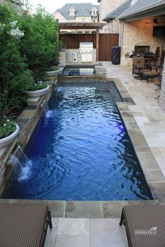 I like the pool colors, decking, and coping.