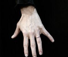finger tattoo | Tumblr