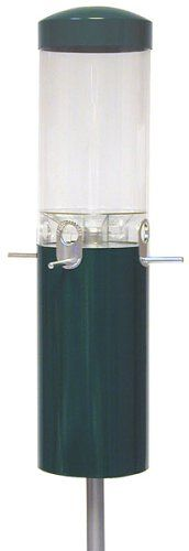 Nature Products 431 Green Classic Pole Mount Wild Bird Feeder