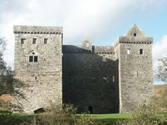 Hermitage Castle, Hawick, Scotland - held by clan Elliott during the Middle Ages.