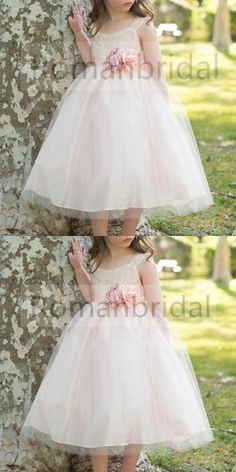 8a11a15f68b Red round neck Puff Sleeve Cute lace flower girl dress with big Golden bow  back