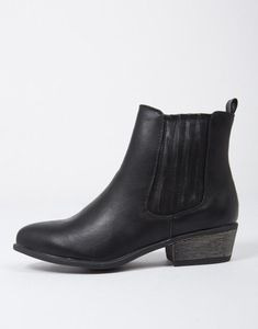73aab662661b7 Mid Calf Shoes, Ladies that you can find in greater choice of design. #. Black  Leather BootsBlack Ankle ...