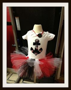 Pirate tutu set by BaberzCouture2012 on Etsy, $24.50