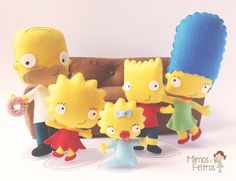 Mimos e Feltros: The Simpsons :D