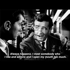 Great line from a great movie- Strangers on a train