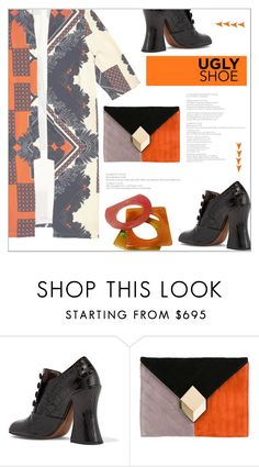 """""""Ugly (But Chic?!) Shoes"""" by meyli-meyli ❤ liked on Polyvore featuring Marc Jacobs, River Island, Pierre Hardy, Yves Saint Laurent and uglyshoes"""
