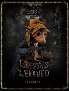 Toby Froud, the son of Brian and Wendy Froud, and the Babe from Labyrinth, creates his own live-action puppet movie.