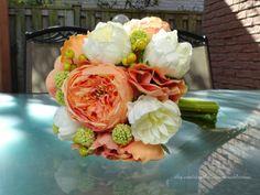 Keepsake silk and Floramatique Bridal by LulusAwesomeBlossoms, $225.00