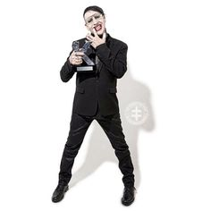 This is Marilyn Manson !