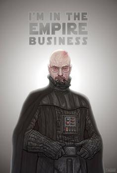 Breaking Bad / Star Wars mashup