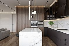 43 New Article Reveals The Low Down On Cool Kitchens Design Layout Islands 68 Layout Design, Design Ideas, Latest Kitchen Designs, Free Kitchen Design, Casa Clean, Built In Seating, Contemporary Kitchen Design, Deco Design, Design Studio