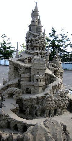 WONDERFUL CASTLE...International Sand Sculpture Competition | Flickr - Photo Sharing!