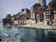 Rumelihisarı Istanbul, Historical Pictures, Planet Earth, Once Upon A Time, Old Photos, Mansions, Landscape, Architecture, World