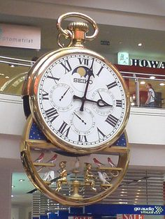 Melbourne central clock