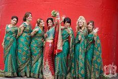 Inspirational Getup for Indian Bridesmaids #BridesMaids #bridesmaidsdresses #Beautiful #Bollywood #Style #Indian #wedding #bride #marriage #shadi #india #RED #dulhan #green #ShaadiMagazine Indian Wedding Bridesmaids, Indian Bridesmaid Dresses, Bridesmaid Saree, Bridesmaid Outfit, Indian Wedding Outfits, Brides And Bridesmaids, Indian Weddings, Bollywood Wedding, Desi Wedding
