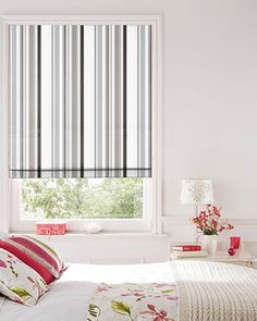 black turquoise striped blind - Google Search