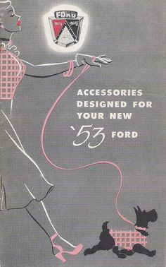 Ford accessories booklet, 1953.