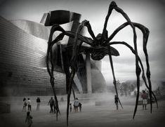 "Louise Bourgeois, ""Maman"" (1999)/ Guggenheim museum, Bilbao Bhakti Dharma  eudaimonia"