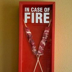 A funny photo about Arrosticini ;) by fonzina Diy Canvas Art, Health And Safety, Food For Thought, Funny Photos, Stuff To Do, Lol, Memes, Coffee Shops, Skewers