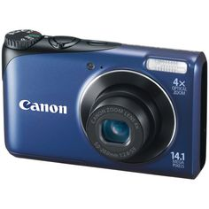 Canon Powershot A2200 14.1 MP Digital Camera with 4x Optical Zoom (Blue)  http://www.wendo.it/photo?p=96
