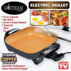 Gotham Steel Smokeless Grill Is An Indoor Grill That Does