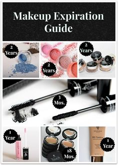 YOUNIQUE makeup expiration guide! #loveitguarantee www.youniqueproducts.com/CandiceHenderson