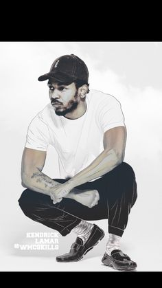 King Kunta Kendrick Lamar pimp a butterfly illustration design wmcskills