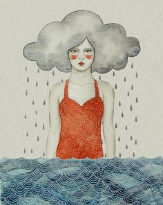 Rain by Sofia Bonati, via Behance