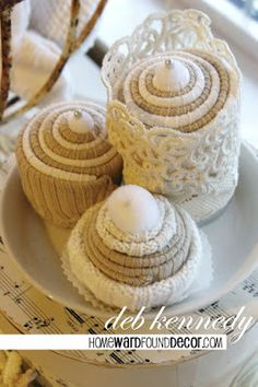 HOMEWARDfound Decor: sweaters-cute! Have the book!