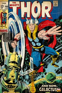 The Mighty Thor Marvel Comics Cover - Posters.com