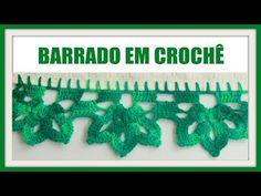Orilla # 22 Crochet en Esquina - YouTube