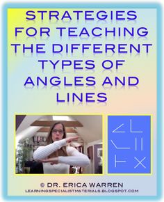 Dr. Warren offers a free video that presents multisensory ways to instruct students about lines and angles.