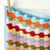 Penny baby blanket