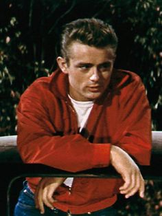 "James Dean - in ""Rebel Without A Cause"", 1955"