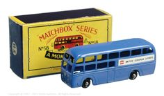 The South West Matchbox Collection | Regular Wheels | Vectis Toy Auctions Matchbox Regular Wheels No.58A Airport Coach