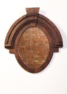 Urbanest Large Wood Oval Wall Decor Mirror 26x235 ** Click image to review more details. (This is an affiliate link and I receive a commission for the sales)