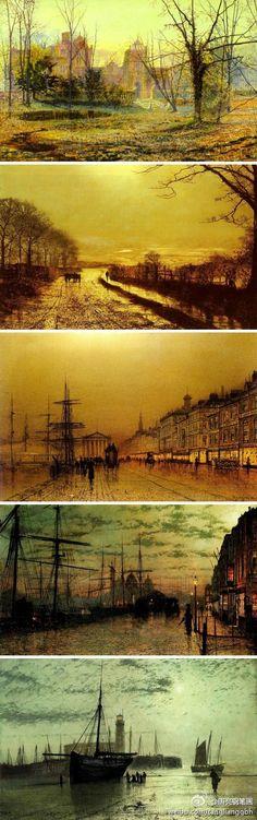 John Atkinson Grimshaw(1836-1893)