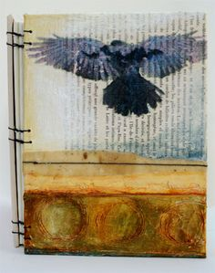 When the blackbird flew ~ by Bridgette Mills #journal #poem
