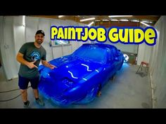 In this video and I go over the full instructions in order to paint your own car. From proper technique to mixing, this guide includes all the in. Cool Car Paint Jobs, Custom Car Paint Jobs, Car Paint Repair, Custom Cars, Custom Painted Cars, Auto Paint, Car Repair, Car Paint Colors, Car Colors